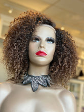 Load image into Gallery viewer, Ombré Kinky Curly Closure Wig