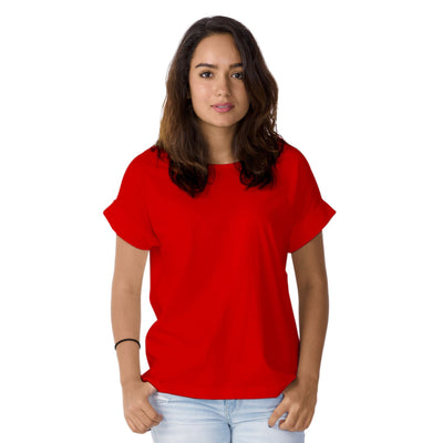 Women's Red Loose