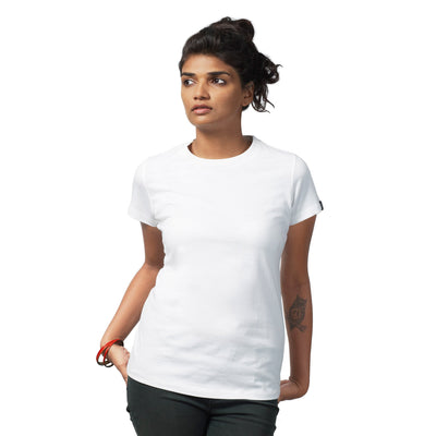 Women's White Regular