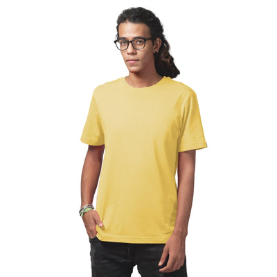 Men's Yellow Regular