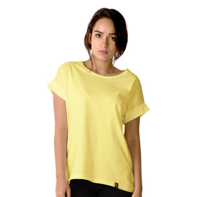 Women's Yellow Loose