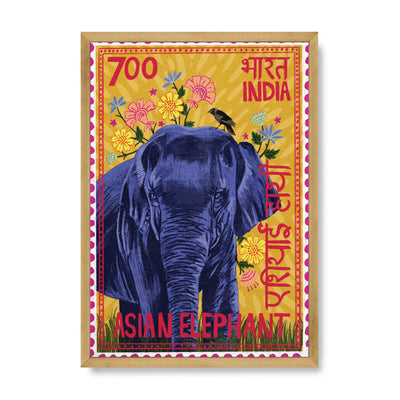 Postage Stamp - Asiatic Elephant