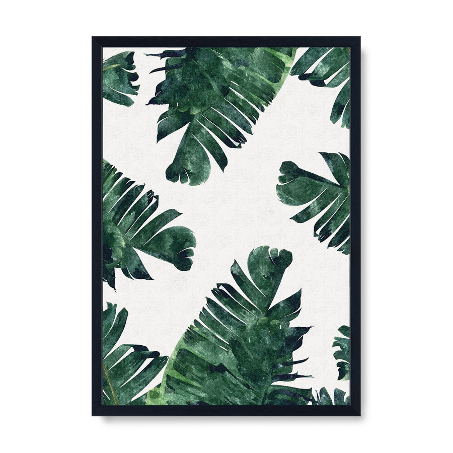 Banana Leaf Watercolour