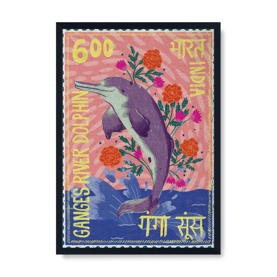 Postage Stamp - Ganges Dolphin