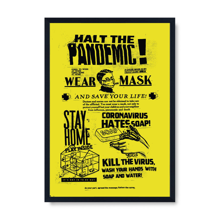 Halt The Pandemic!