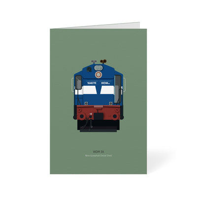 Indian Rail Engines - WD