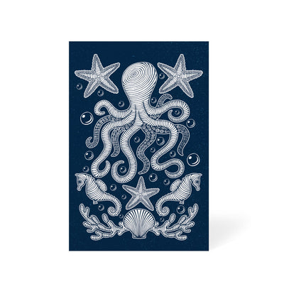Octopus In The Sea