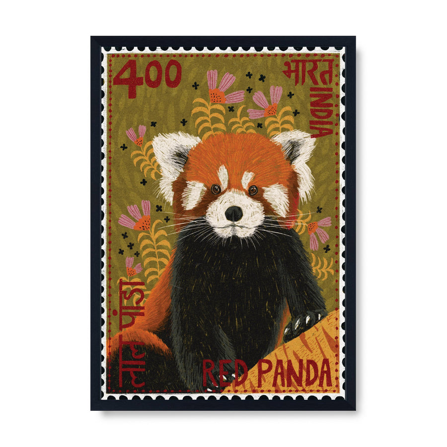 Postage Stamp - Red Panda