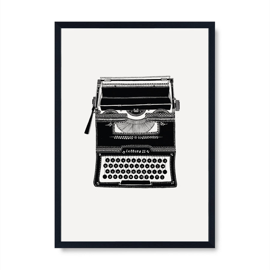 Vintage Series - Typewriter