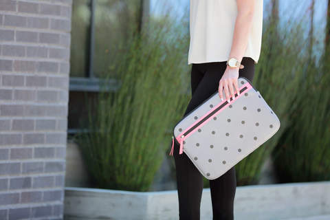 Geometric Print Laptop Sleeve | Targus