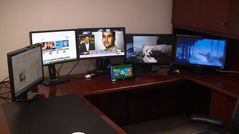 Surface Workstation and computer monitors
