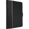 Black VersaVu® Signature 360° Rotating Case for iPad® (2018/2017) (THZ636US) - Front Right Angle