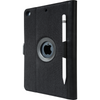 Black VersaVu® Signature 360° Rotating Case for iPad® (2018/2017) (THZ636US) - Back Left Angle
