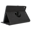 Black VersaVu® Signature 360° Rotating Case for iPad® (2018/2017) (THZ636US) - In Use Back