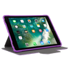 Purple 3D Protection Case for iPad® (2018/2017) (THZ63507GL) - In Use Landscape Viewing Right