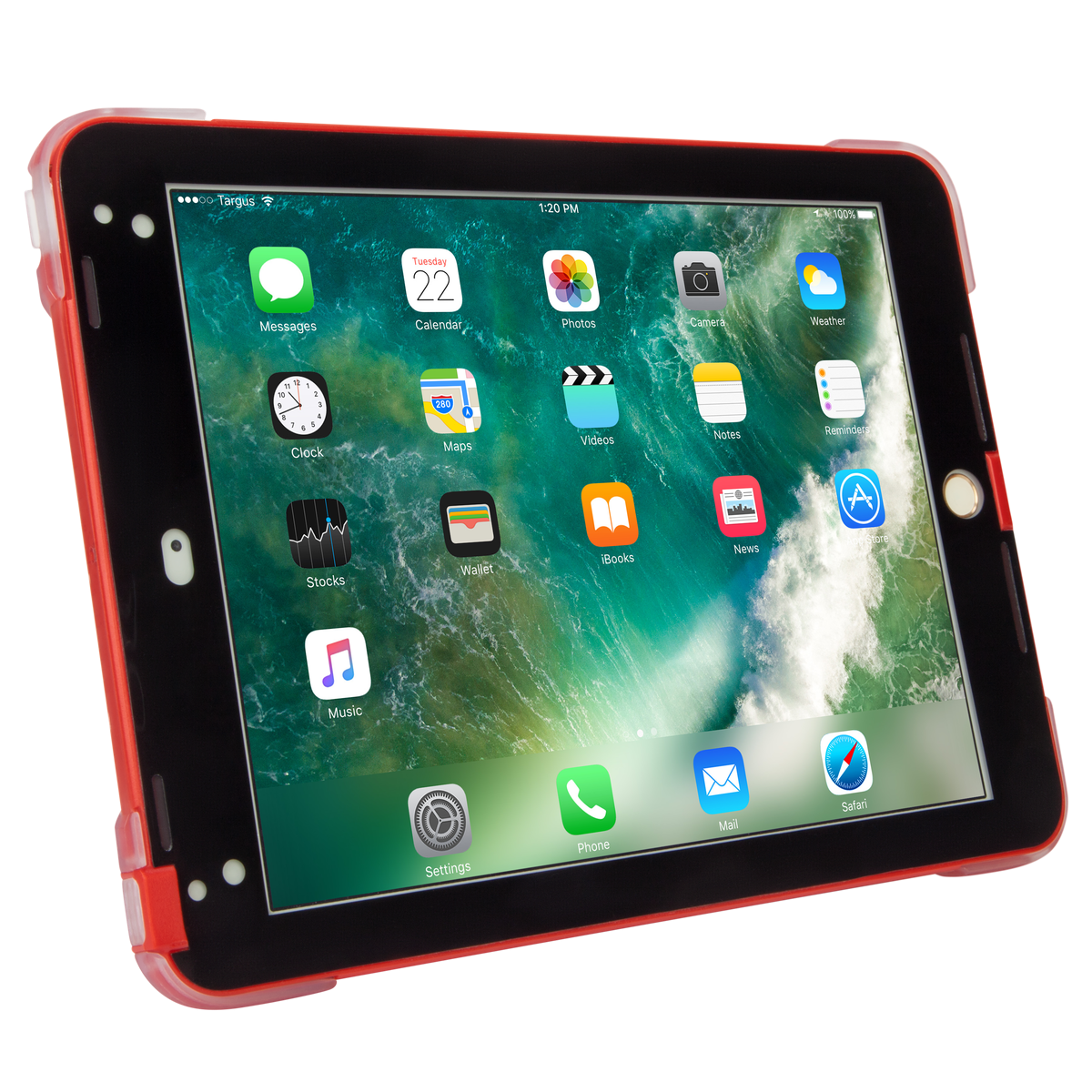 new styles 5577f b530f SafePort® Rugged Case for iPad® (2017/2018), 9.7-inch iPad Pro®, and iPad  Air® 2 (Red)