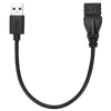 15cm USB 3.0 A/F to A/M Extension Cable