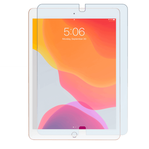 iPad® with screen protector