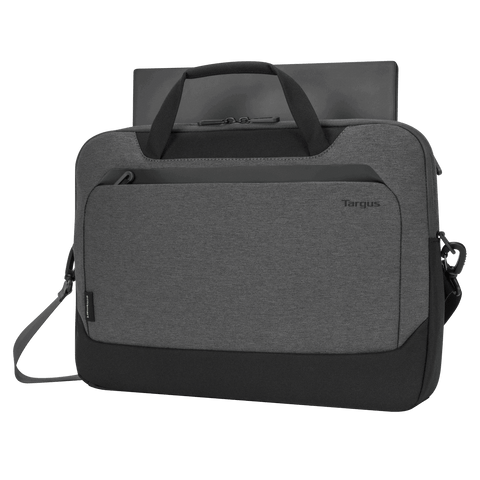 "15.6"" Cypress Briefcase with EcoSmart® (Light Gray) hidden"