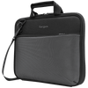 "Plus 11.6"" Chromebook Work-in Case (Black/Grey) - Front Left Angle"