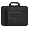 "Plus 13-14"" Chromebook Work-in Case (Black/Gray) - Back"