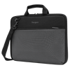 "Plus 13-14"" Chromebook Work-in Case (Black/Gray) - Front Left Angle"