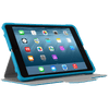Blue 3D Protection Case for iPad mini® (THZ59502GL) - In Use Landscape Viewing Right