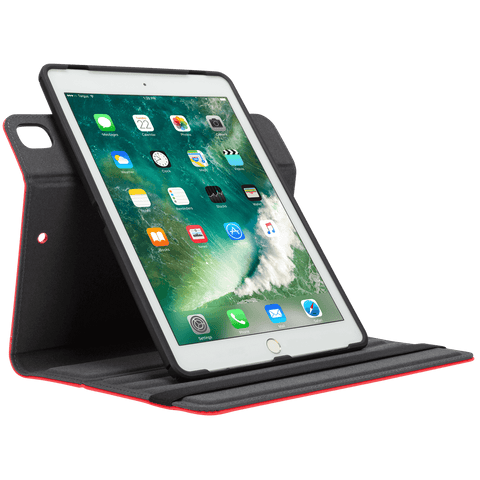Red VersaVu® Classic for iPad® (6th gen./5th gen.) (THZ63403GL) - In Use Portrait Viewing hidden