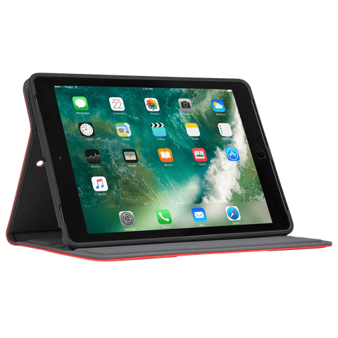 VersaVu® Classic Case for iPad® (6th gen./5th gen.), iPad Pro® (9.7-inch), iPad Air® 2, and iPad Air® (Red)