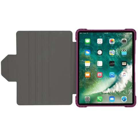 Pro-Tek™ Rotating Case for iPad Pro® (12.9-inch) 3rd gen. (Burgundy) hidden