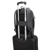 Groove X2 Max 15-inch Laptop Backpack (Charcoal) - Luggage Trolley in Use
