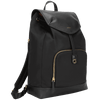 "15"" Newport Drawstring Backpack (Black)"