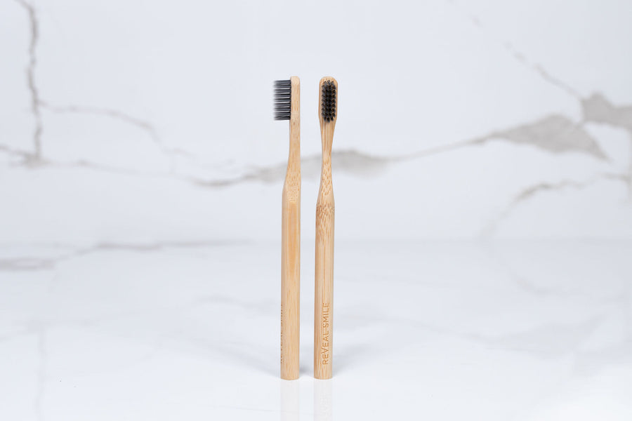Bamboo Toothbrush Adult - ReVeal Smile | Home Teeth Whitening Kits & Accessories