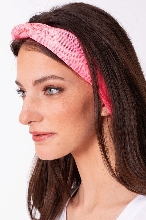 Rainbow Colorful Solid Mesh Tri-bandana