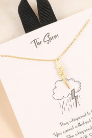 The Storm Lightning Necklace