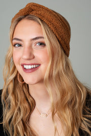 Solid Faux Fur Snuggle Head Band