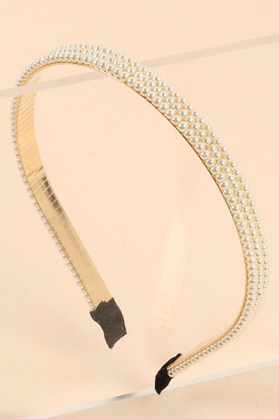 Pearls Decorated Head Band