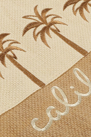 California Palm Trees Two Tone Beach Bag
