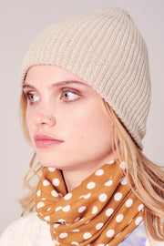 Low Gauge Ribbed Beanie