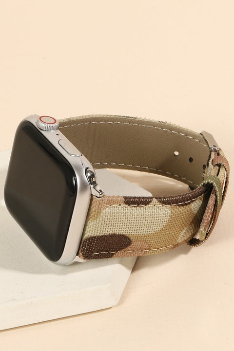 Camouflage Print iWatch Band for 42-44mm