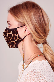 Leopard Print Reusable Face Masks