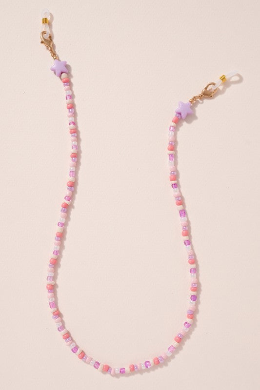 Seed Beads Chain Mask Lanyards Kids