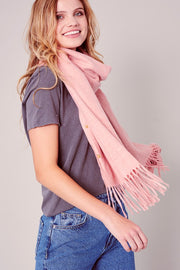 Multiple Use Side Snap Button Closure Scarf