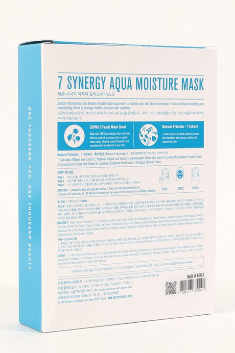 7Synergy Hydrating Face Mask