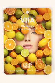 7Synergy Citrus Brightening Face Mask