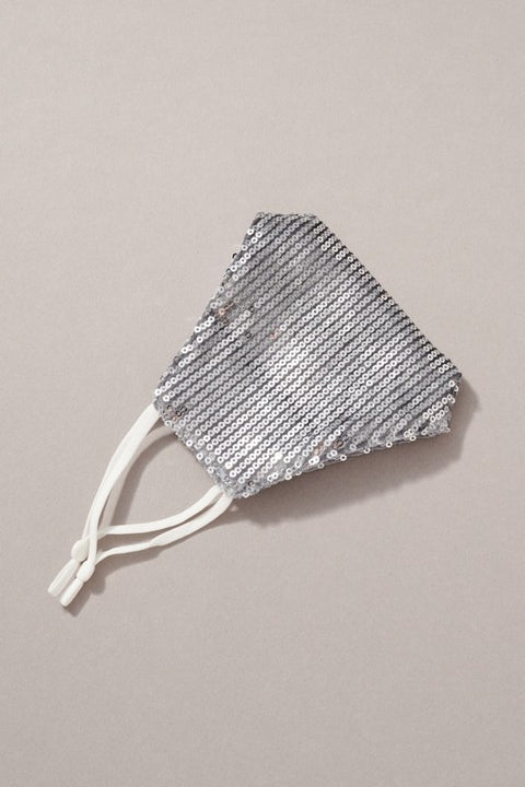 Sequin Fabric Double Layer Reusable Face Masks