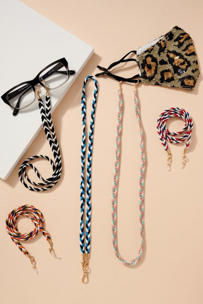 Cotton Braids Threads Mask Lanyards