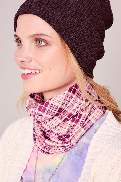 Double Layered Multi Function Face Cover Snood