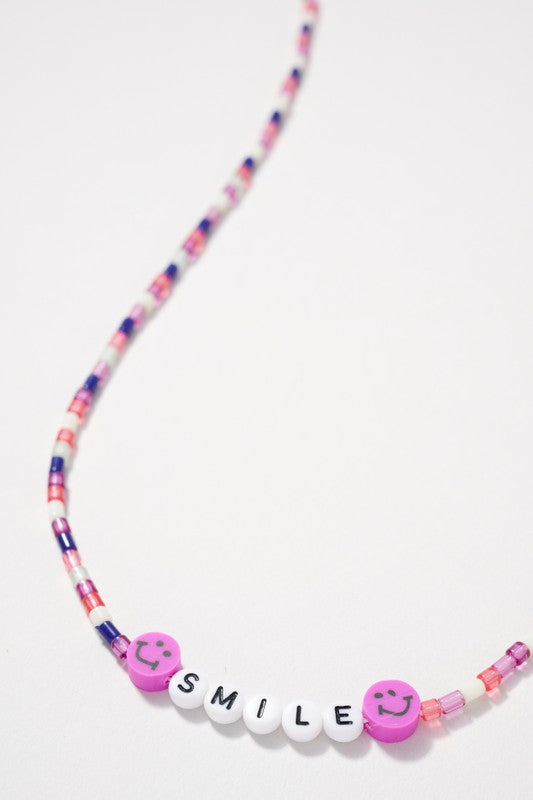 Glass Beaded Mask Lanyard for Kids