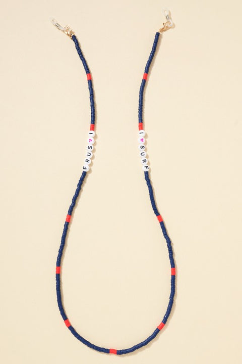 Rubber Bead Mask Lanyard